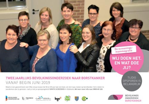 Vrouwelijke mandatarissen actie borstakanker