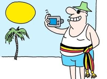 Burgemeester op vakantie