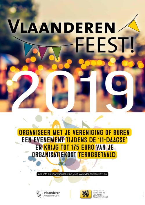 Vlaanderen feest cheques