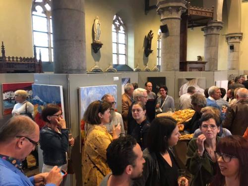Opening kunst in de kerk foto 3