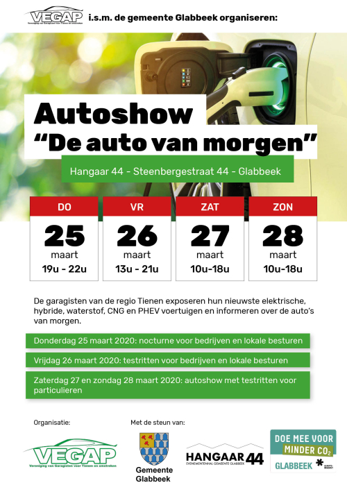 Vegap autoshow de auto van morgen