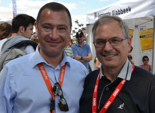 Peter Reekmans en Marc Wijnants