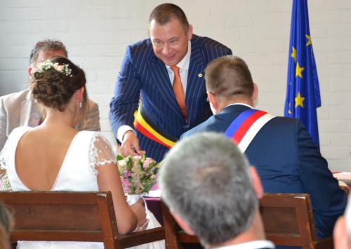 Huwelijk gemeenteraadslid Simon Vandermeulen