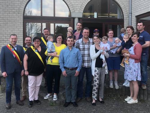 Babyborrel huis van het kind Glabbeek 2019
