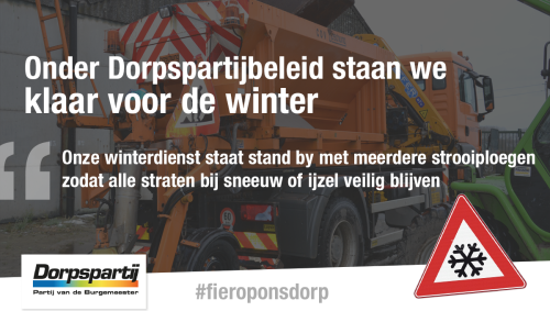 Advertentie winter