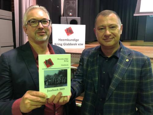 Peter Reekmans en Ronny Laermans jaarboek HKG