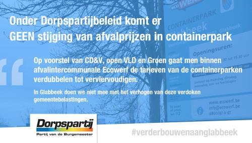 Advertentie containerpark