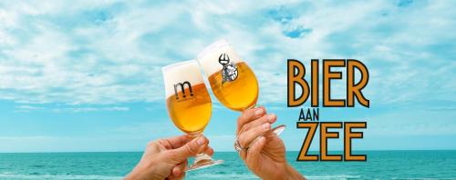 Bier aan zee