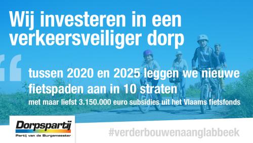 Advertentie fietspaden Vlaams fietsfonds 19