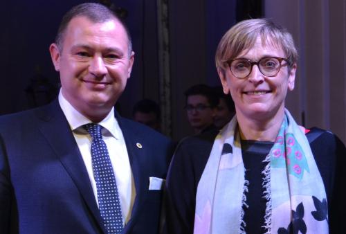Peter Reekmans en Karin Genoe