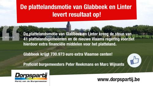 Advertentie Vlaamse centen plattelandsfonds