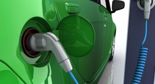 Elektrisch voertuig opladen 3
