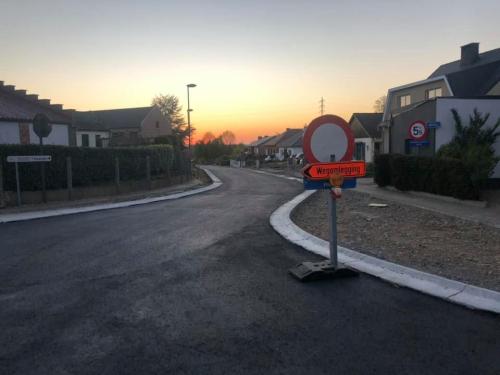Baekveldstraat wegenwerken