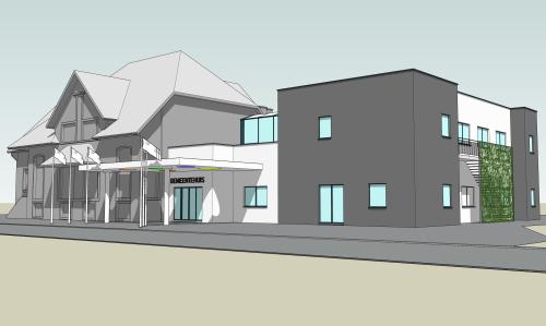 Glabeek 20200317-04 gemeentehuis