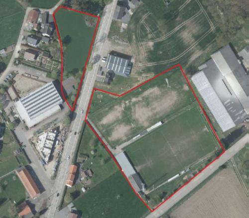GRUP zonevreemde recreatie locatie uitbreiding parking sporthal en voetbal Glabbeek