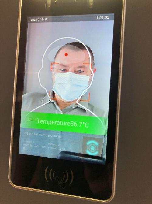 Burgemeester Peter Reekmans test slimme thermische camera