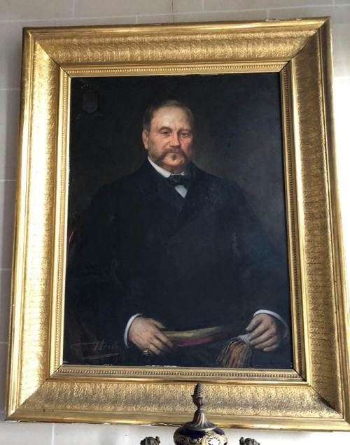 Baron Theodoor de Turck de Kersbeek schilderij