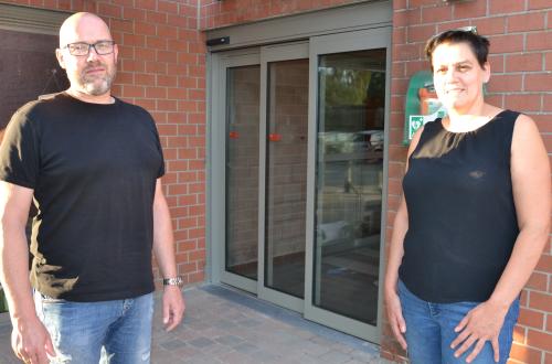 Wim en Cindy toegankelijkheid gebouwen AGB