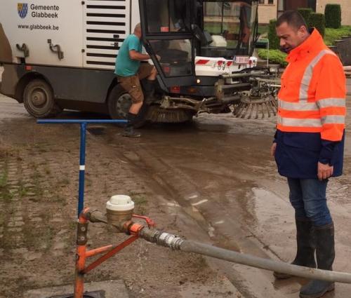Burgemeester waterprobleem