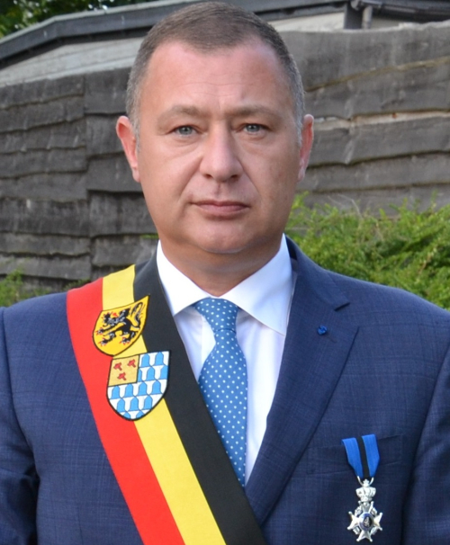 Burgemeester Peter Reekmans officieel