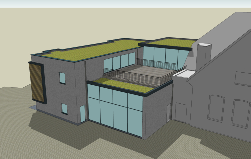 Nieuw gemeentehuis 3d foto 1