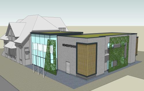 Nieuw gemeentehuis 3d foto 6