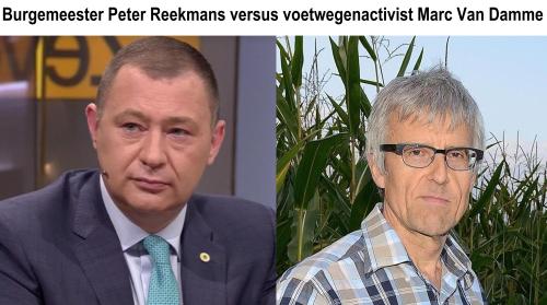 Burgemeester Glabbeek versus Marc Van Damme