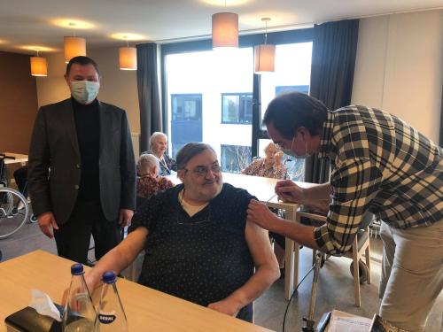 Vaccinactie WZC Den Boomgaard