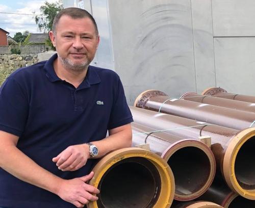 Burgemeester Peter Reekmans rioleringswerken