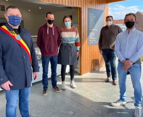 Opening nieuwe zaak M'N Ijsje Glabbeek