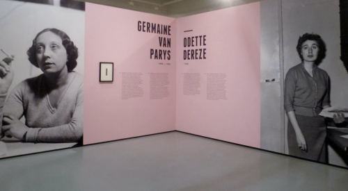 Tentoonstelling Odette Dereze