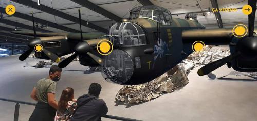Lancaster museum Overloon foto 1
