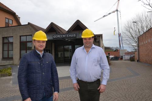Peter Reekmans en Kris Vanwinkelen bouwen aan Glabbeek