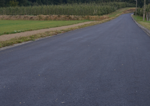 Nieuwe asfaltering