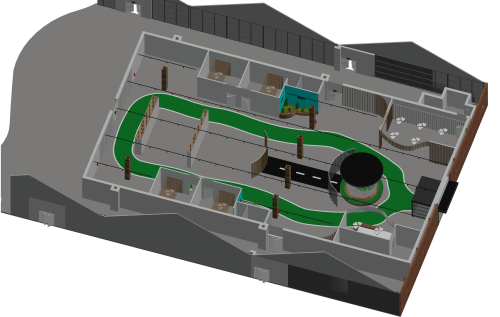 Pop up bewegingscentrum plattegrond