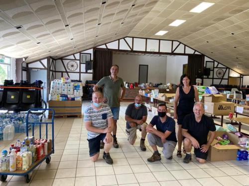 Glabbeek helpt leveren in Trooz 21 juli 2021 foto 18