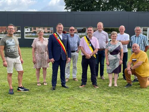 Officiële opening nieuwe voetbalkantine Bunsbeek